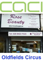 Beauty salon offering CACI, 3D Lipo